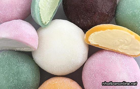 Bánh mochi Nhật Bản - Ice Cream Mochi