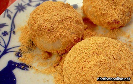 Bánh mochi Nhật Bản - Kinako Mochi