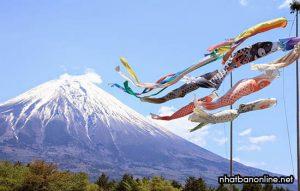 Lễ hội Koinobori Matsuri - lễ hội dành cho các bé trai ở Nhật Bản