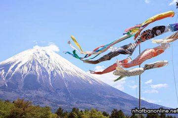Lễ hội Koinobori Matsuri – lễ hội dành cho các bé trai ở Nhật Bản