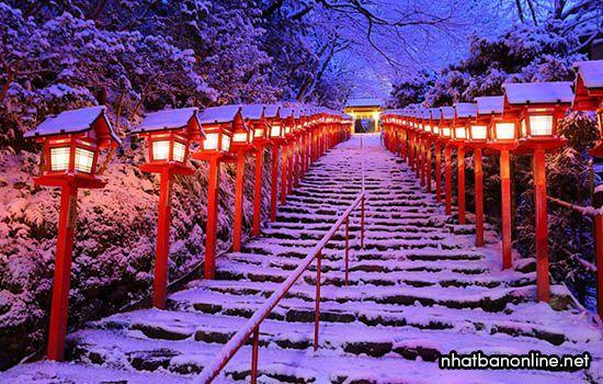 Khí hậu của Nhật Bản vào mùa đông