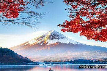Núi Phú Sĩ Nhật Bản, một trong ba ngọn núi thánh của xứ Phù Tang