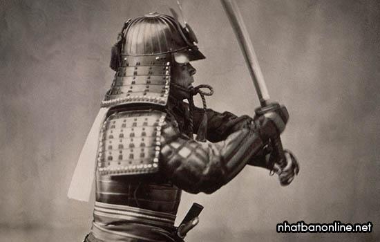 Samurai Nhật Bản được trang bị áo giáp