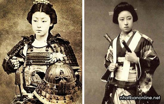 Nữ samurai Nhật Bản từng rất nổi tiếng
