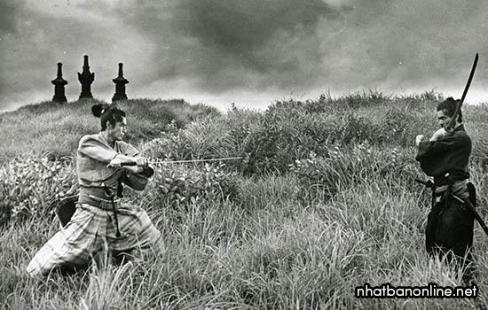 Các samurai quyết đấu