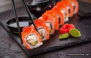 Sushi - đặc trưng ẩm thực Nhật Bản