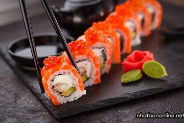 Sushi – đặc trưng ẩm thực Nhật Bản