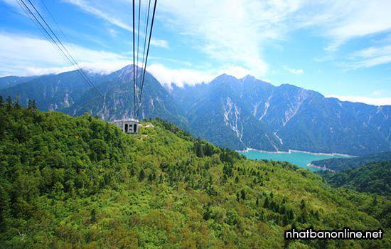 Cáp treo núi Tateyama