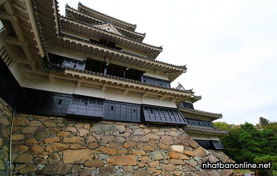 Kiến trúc độc đáo của lâu đài Matsumoto