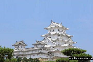 Lâu đài Himeji  (thành Diệc Bạch) – di sản văn hóa thế giới của Nhật Bản