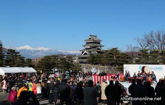 Lâu đài Matsumoto - lâu đài Qụa đen của xứ Phù Tang
