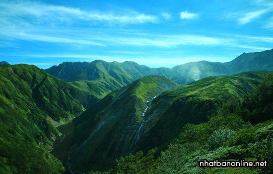 Dãy núi Tateyama