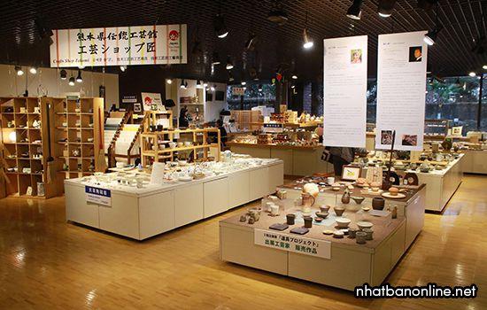 Phòng trưng bày sản phẩm thủ công truyền thống
