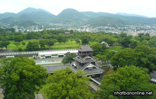 Tháp Uto - thành Kumamoto