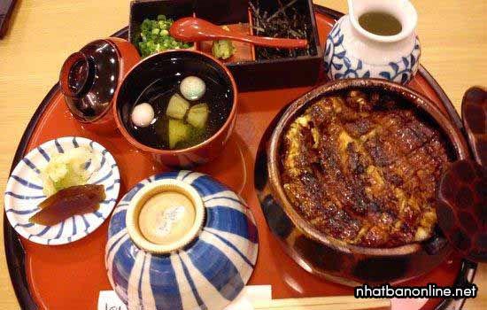 Cơm lươn - đặc sản ở thành phố Nagoya