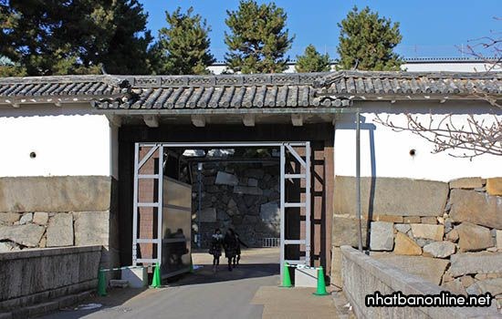 Cổng trước thứ hai của thành cổ Nagoya
