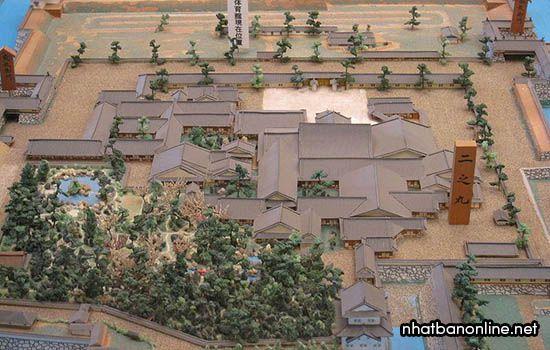 Mô hình toàn cảnh cung điện Ninomaru