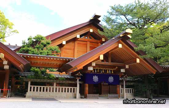 Đền Atsuta - thành phố Nagoya, Aichi, Nhật Bản