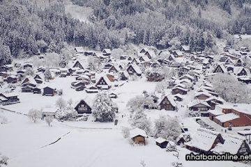 Làng cổ Shirakawago – di sản văn hóa thế giới 300 năm tuổi