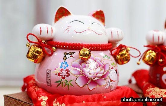 Mèo thần tài, mèo may mắn Maneki Neko