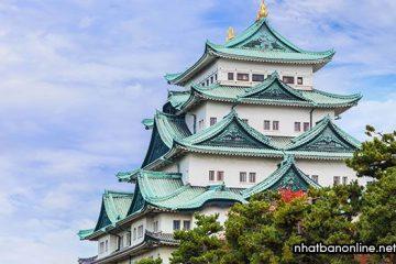 Thành cổ Nagoya Nhật Bản nơi lý tưởng để ngắm hoa anh đào
