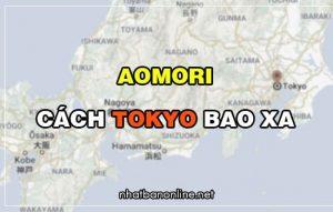 Aomori cách Tokyo bao xa? Từ Tokyo đến Aomori bao nhiêu km