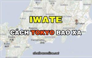 Iwate cách Tokyo bao xa? Từ Tokyo đến Iwate bao nhiêu km