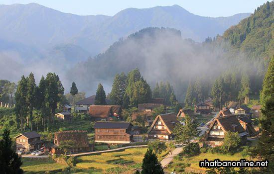 Làng cổ Ainokura – Di sản văn hóa thế giới