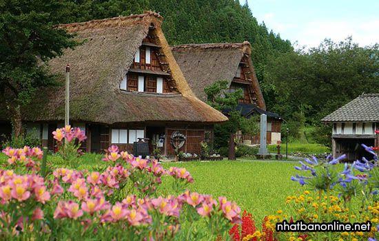 Làng Suganuma với lối kiến trúc Gassho