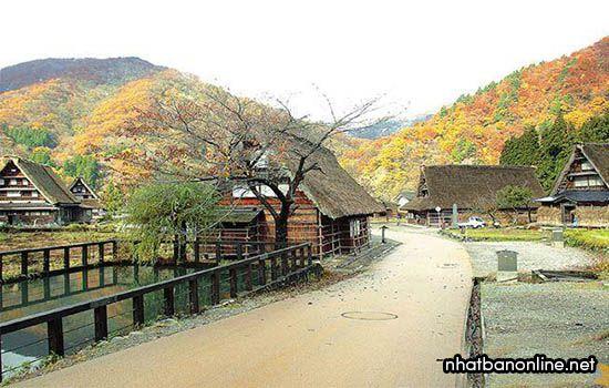 Quần thể làng cổ Gokayama