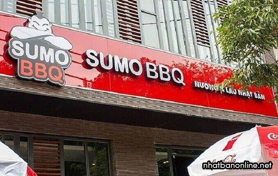 Nhà hàngSumo BBQ - quán Nhật ngon ở Hà Nội