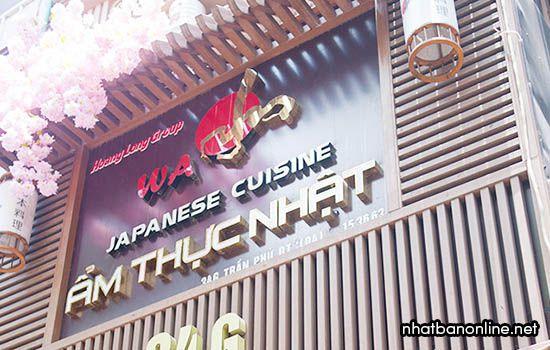 Nhà hàngWa Japanese Cuisine