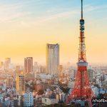 Tháp Tokyo Tower - biểu tượng của Tokyo sau thế chiến thứ 2
