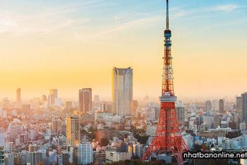 Tháp Tokyo Tower – biểu tượng của Tokyo sau thế chiến thứ 2