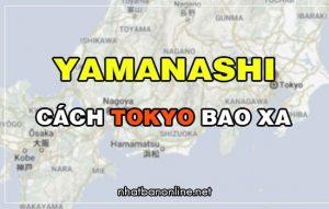 Yamanashi cách Tokyo bao xa? Từ Tokyo đến Yamanashi bao nhiêu km