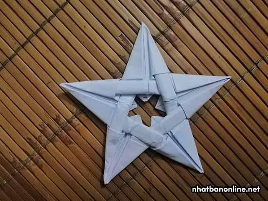 Cách xếp ngôi sao bằng giấy A4 đẹp, đơn giản ai cũng làm được