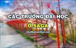 Các trường đại học ở Saga Nhật Bản (update 4/2020)