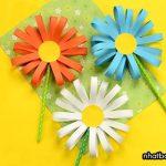 Cách gấp hoa bằng giấy