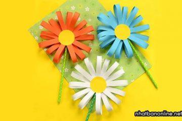Cách gấp hoa bằng giấy, tổng hợp các kiểu gấp hoa giấy đơn giản mà đẹp