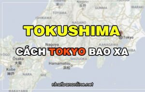 Tokushima cách Tokyo bao xa? Từ Tokyo đến Tokushima bao nhiêu km
