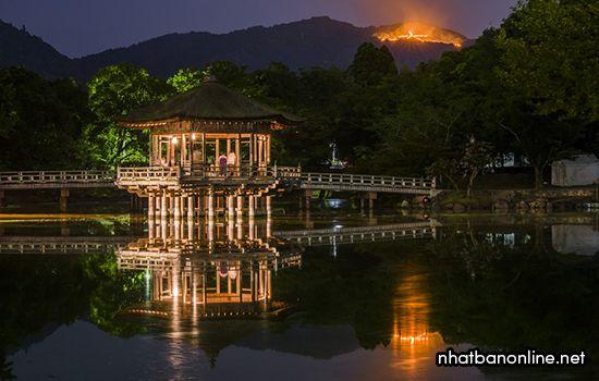 Lễ hội ánh sáng ở Nara Nhật Bản