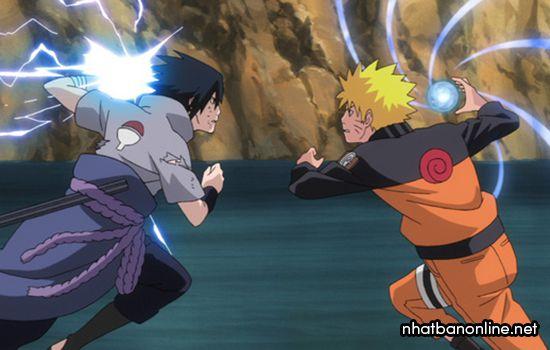 Anime chuyển thể từ truyện tranh Naruto