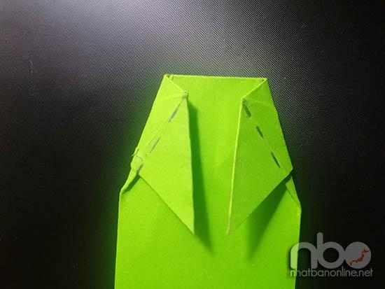 Cách gấp con cá chép vàng bằng giấy