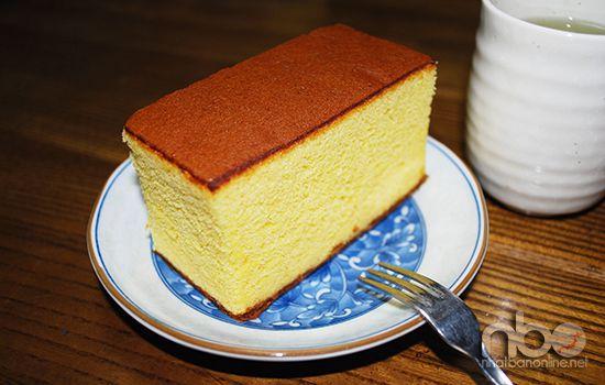 Bánh bông lan Castella nổi tiếng ở Nagasaki