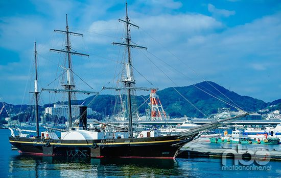 Thành phố Nagasaki là một cảng biển quan trọng