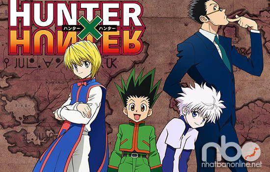 Truyện tranh Nhật Bản hay -Hunter x Hunter