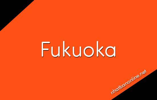 Fukuoka tỉnh số mấy